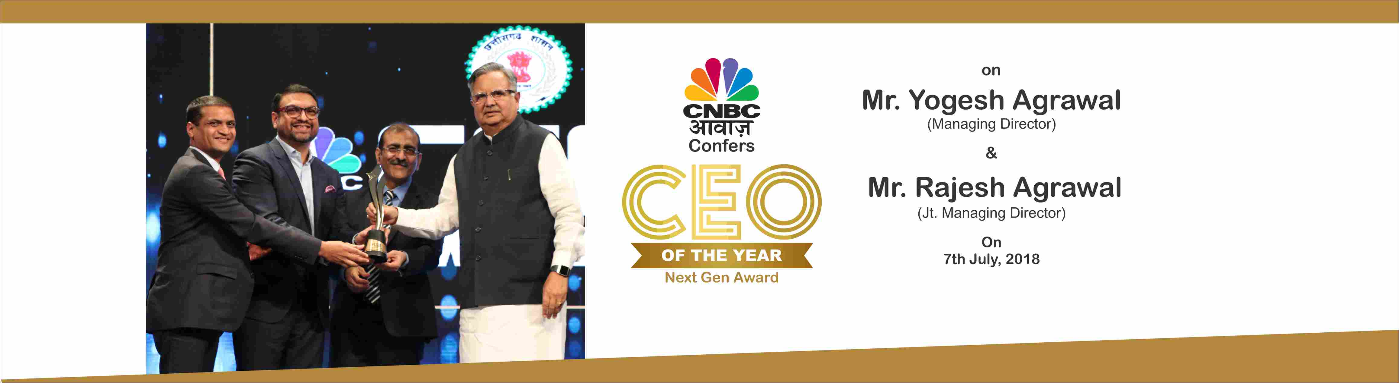 CEO OF THE YEAR CNBC 2018